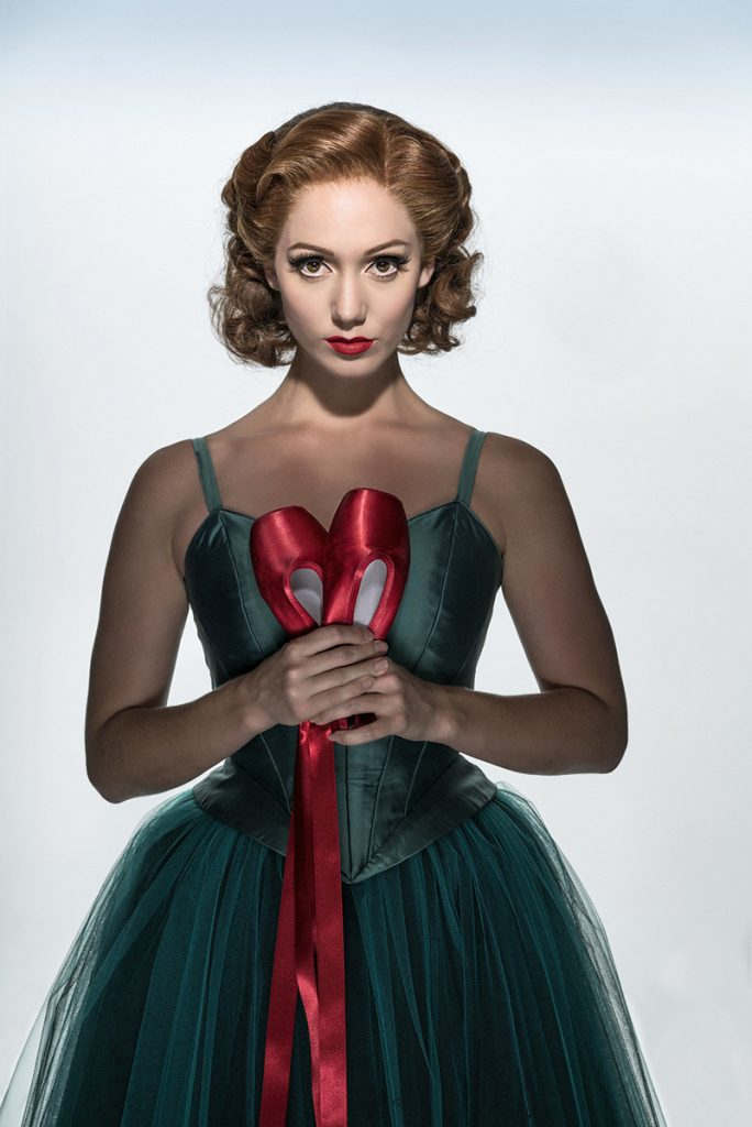 THE RED SHOES Ashley Shaw 'Victoria Page' Credit: Johan Persson