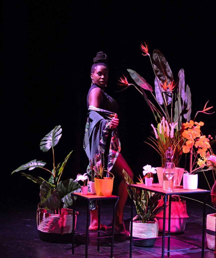 Chanje Kunda in Plant Fetish. Photo by Silk Photography