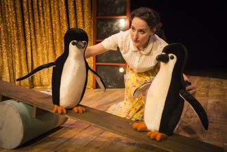 Mr Popper's Penguins. Credit Helen Murray