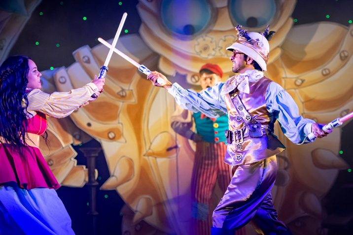 Jack and the Beanstalk 2019 pantomime at Oldham Coliseum. Theatre. Credit Darren Robinson