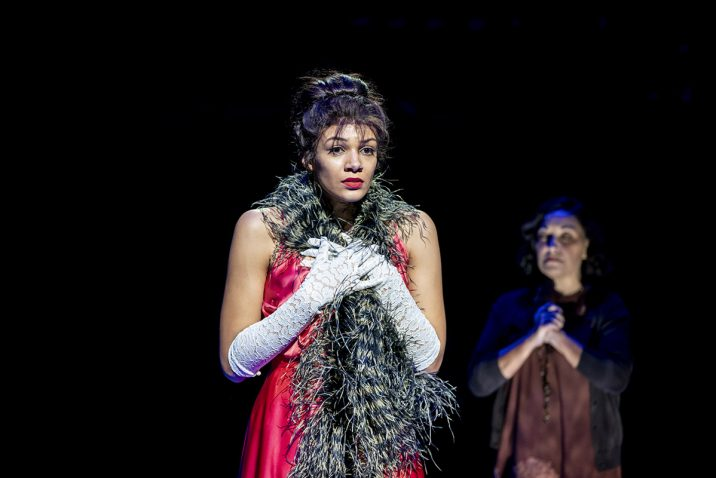 GYPSY - Melissa James (Louise) - Image Johan Persson
