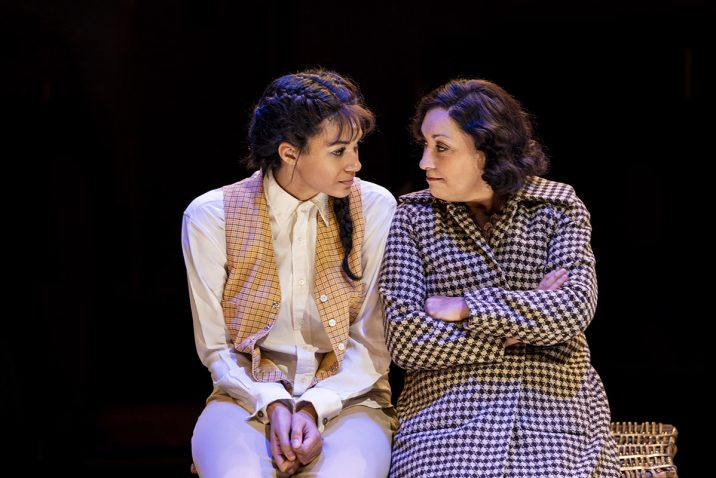 GYPSY - L-R Melissa James (Louise), Ria Jones (Rose) - Image Johan Persson