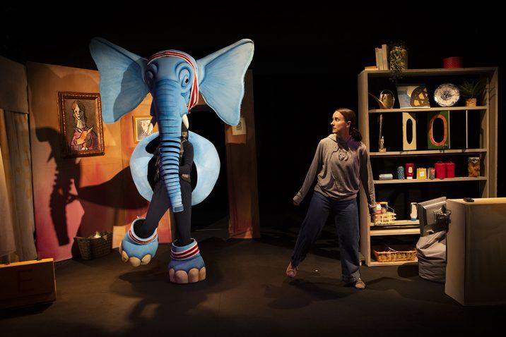 The Slightly Annoying Elephant - photo by Ellie Kurttz