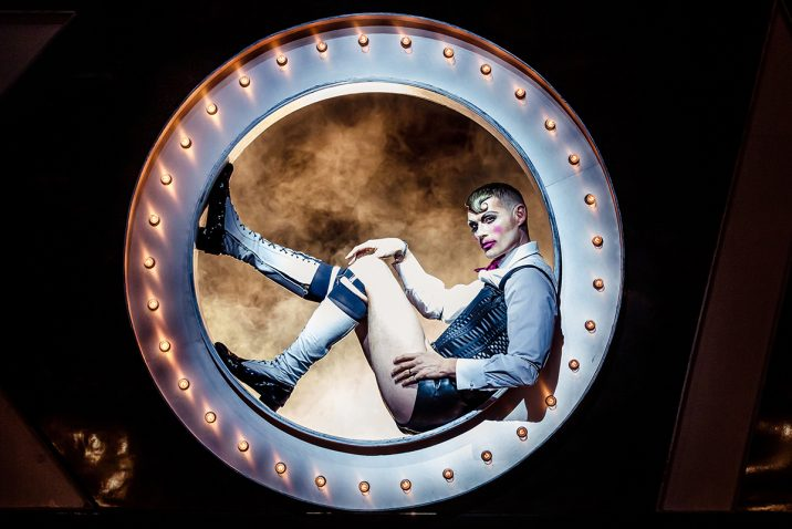 John Partridge in Cabaret Bill Kenwright Productions ©The Other Richard