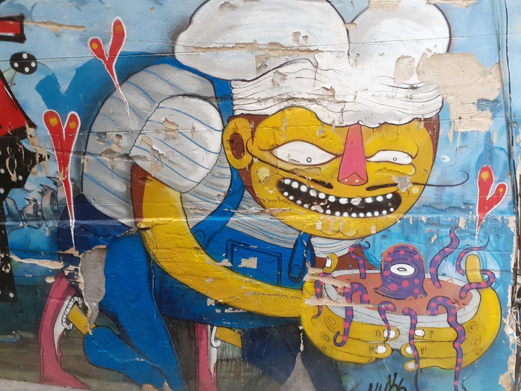 Graffiti Panier District Marseille