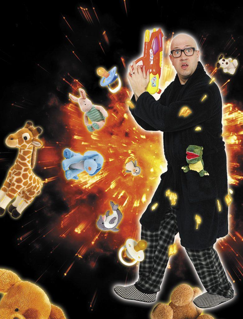 Comedian Sam Avery Toddlergeddon