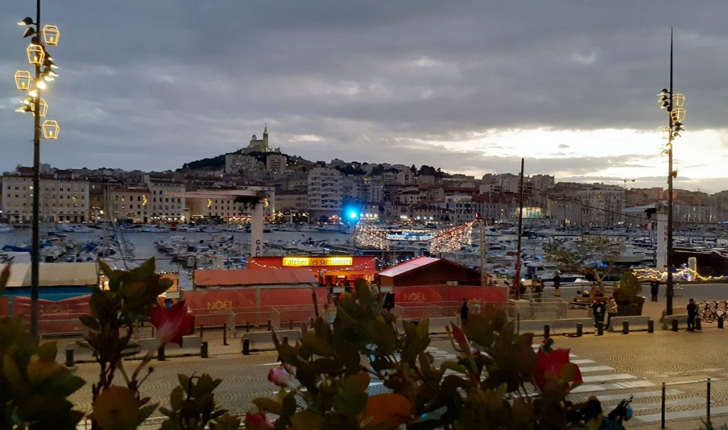 View from La Caravelle over Vieille-Port, Marseille