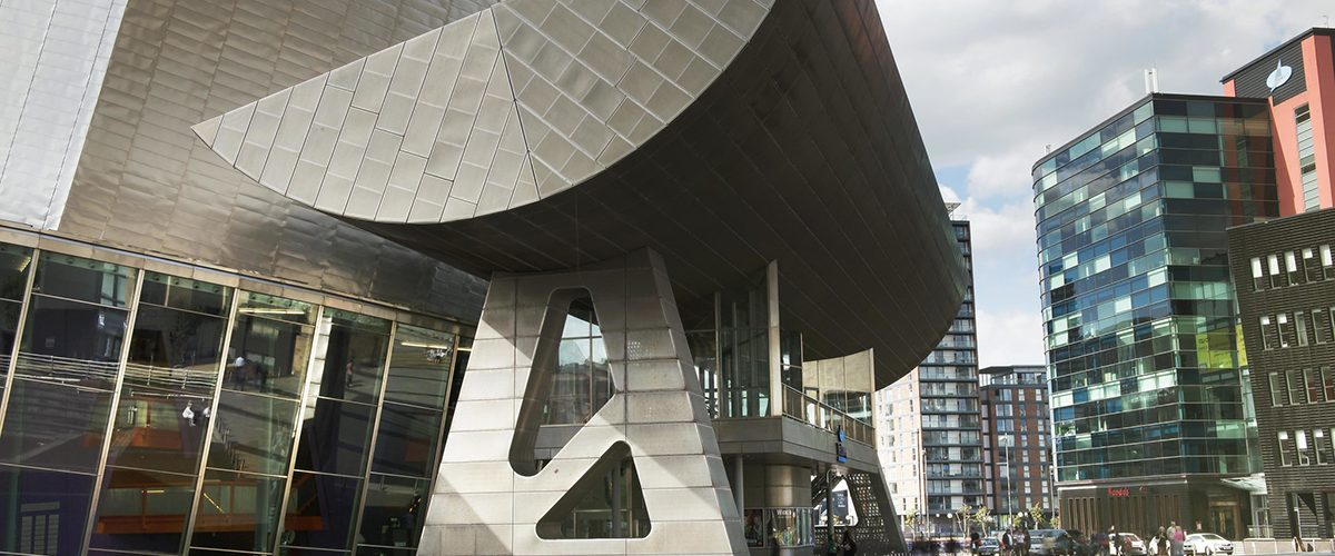 The Lowry Salford Quays Credit: Percy Dean