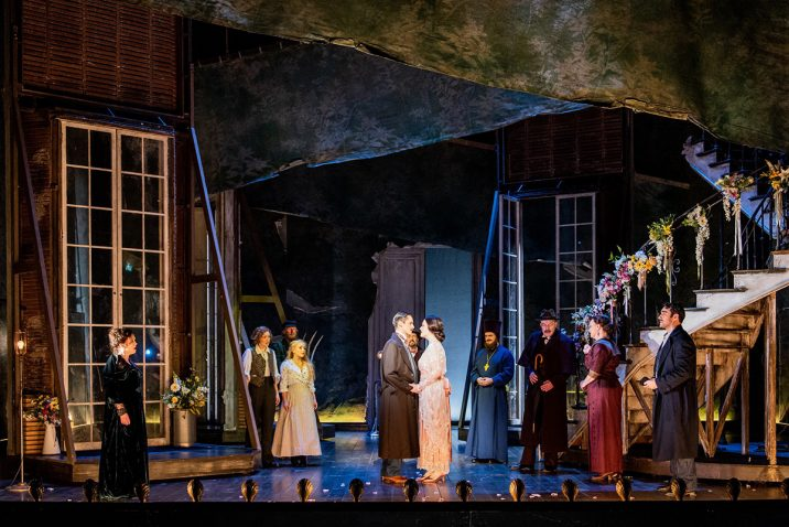 Opera North's production of Mozart's The Marriage of Figaro Photo credit: Robert Workman