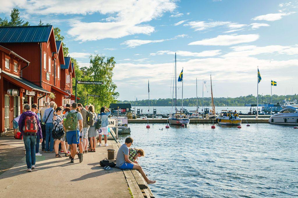 Fjäderholmarna, Stockholm Archipelago Photographer: Anne Sofie Eriksson