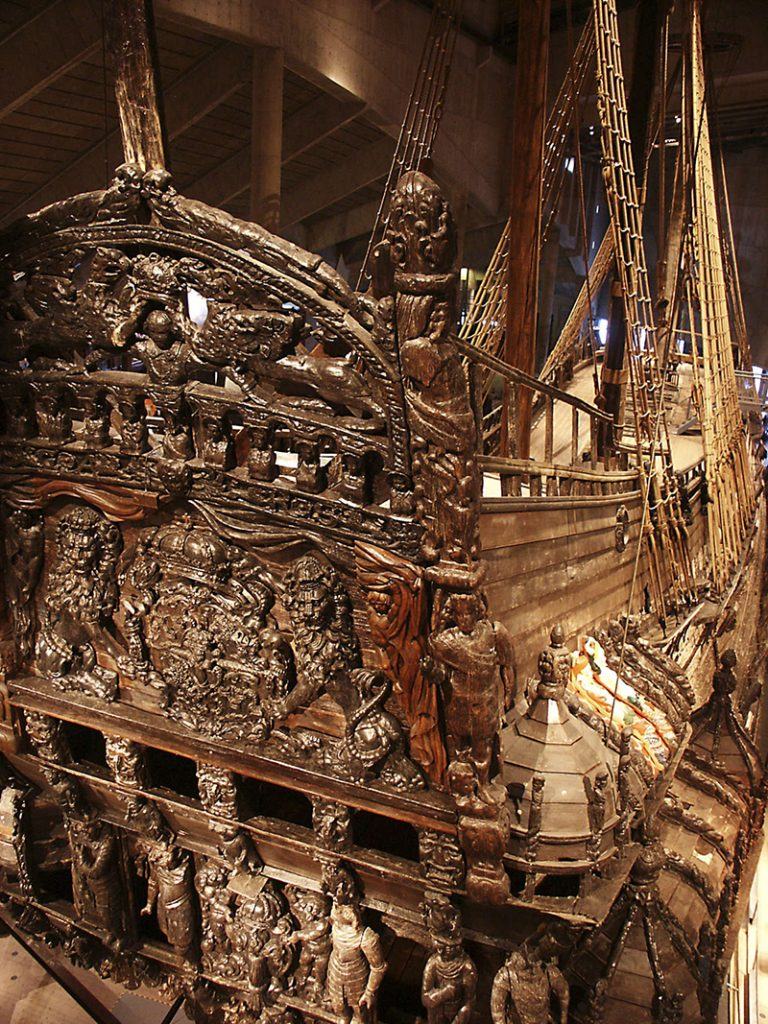 The museum of Vasa, Vasamuséet, Djurgården Photographer: Alexander Dokukin