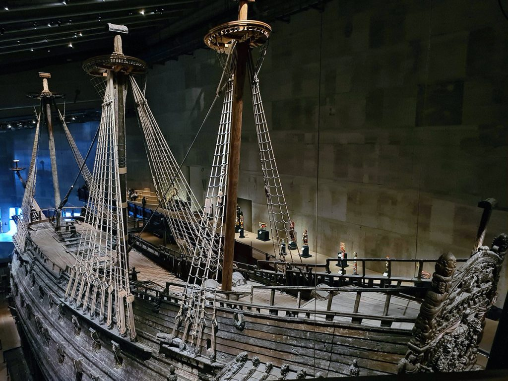 Vasa viewed from above