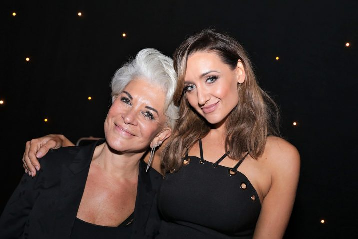 Liz Taylor and Catherine Tyldesley