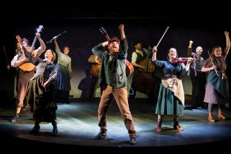 The Hired Man company - Photo credit Mark Sepple