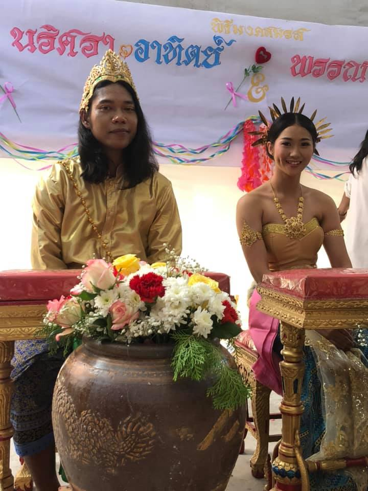 Moradokmai Theatre Community from Thailand: Atit and Maey get married