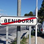 Benidorm sign