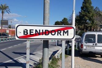 Benidorm sign