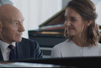 Sir Patrick Stewart and Katie Holmes in Life with Music