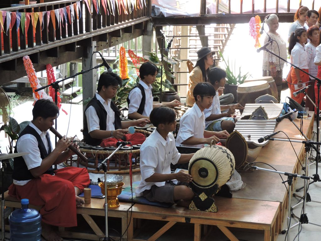 Moradokmai Theatre Community from Thailand: Traditional Thai Orchestra