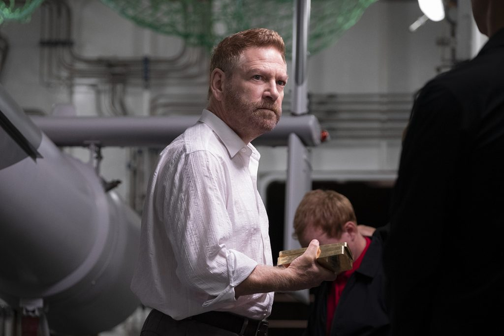 """KENNETH BRANAGH in Warner Bros. Pictures' action epic """"TENET,"""" a Warner Bros. Pictures release."""