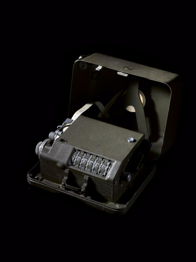 M209-B cipher machine © The Board of Trustees of the Science Museum, GCHQ.