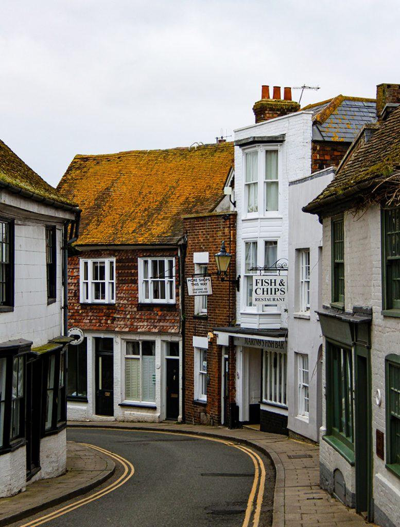 Street in Rye, UK