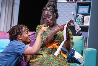 Uche Abuah and Michelle Asante in Notes on Grief, MIF 21