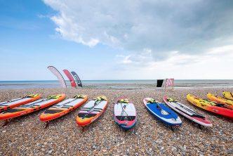 Worthing Beach paddleboarding