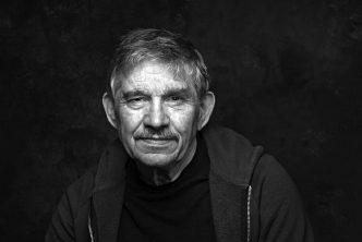 Poet, Peter Street. Photographer John Bentley