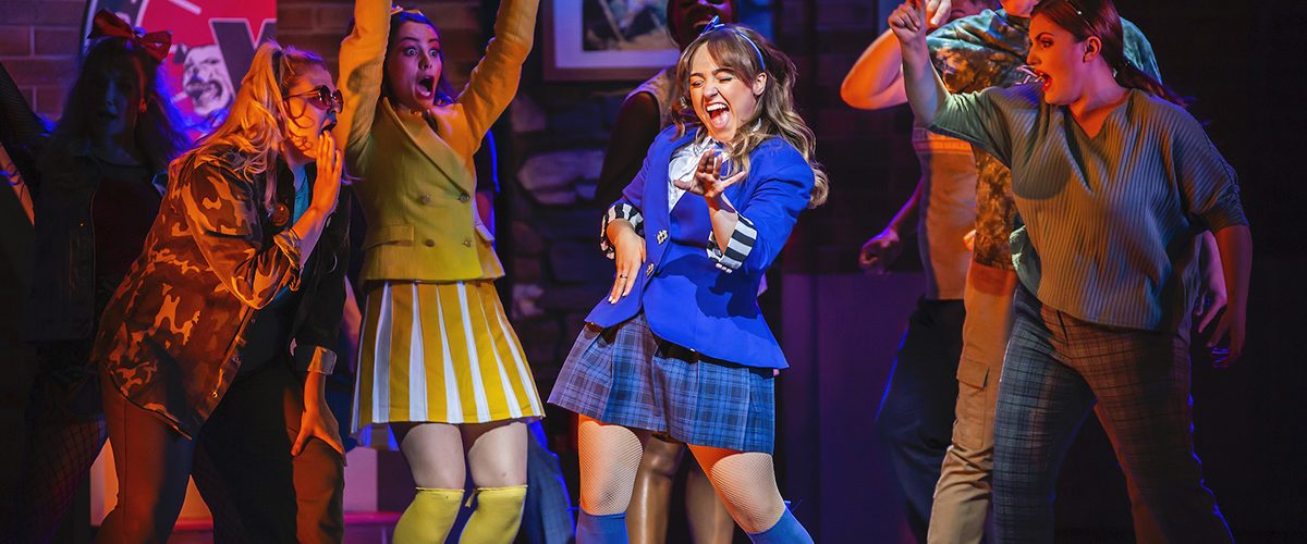Rebecca Wickes & the cast of Heathers The Musical - UK Tour 2021 - Photo by Pamela Ra