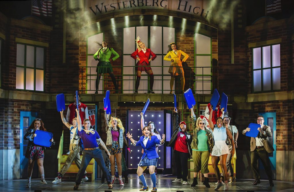 The cast of Heathers The Musical - UK Tour 2021 - Photo by Pamela Raith
