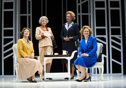 Handbagged Cast Credit Tristram Kenton
