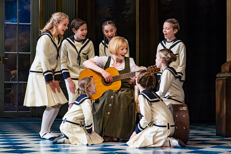 Lucy O'Byrne in The Sound of Music