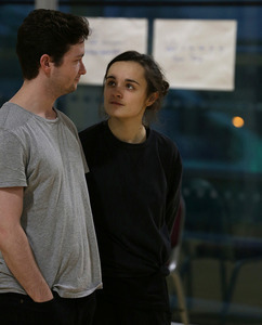 George Caple and Hannah Bristow in Who Cares? Credit: Nathan Cox