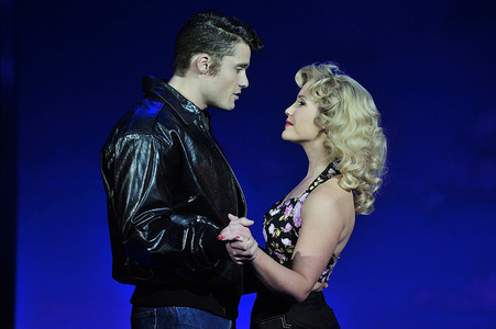 Ben Freeman and Heidi Range in Happy Days A New Musical
