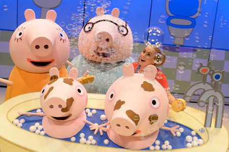 Peppa Pig live Credit Dan Tsantilis
