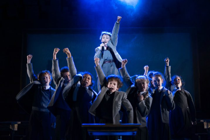 Royal Shakespeare Companys Matilda The Musical. Credit Manuel Harlan