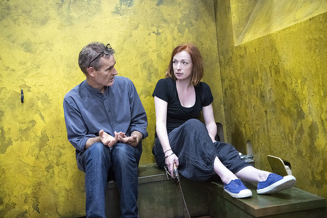 Rufus Norris (Director) and Kirsty Besterman (Lady Macbeth)_Credit Richard Hubert Smith