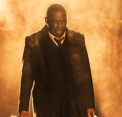 Don Warrington as Willy Loman. Credit: Johan Persson