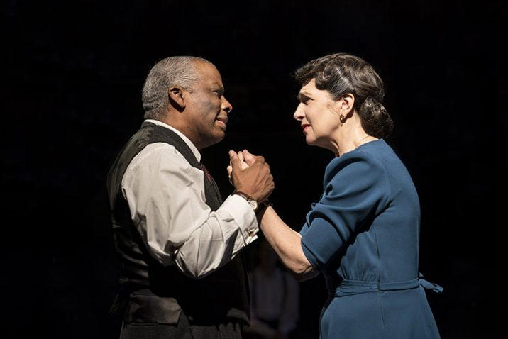 Don Warrington and Maureen Beattie. Credit: Johan Persson