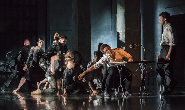 Life is a Dream. Liam Francis and Rambert Dancers. © Johan Persson