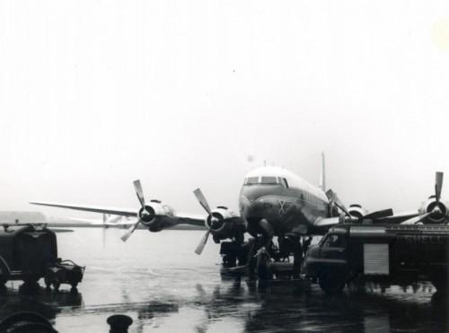 First atlantic crossing - 1953