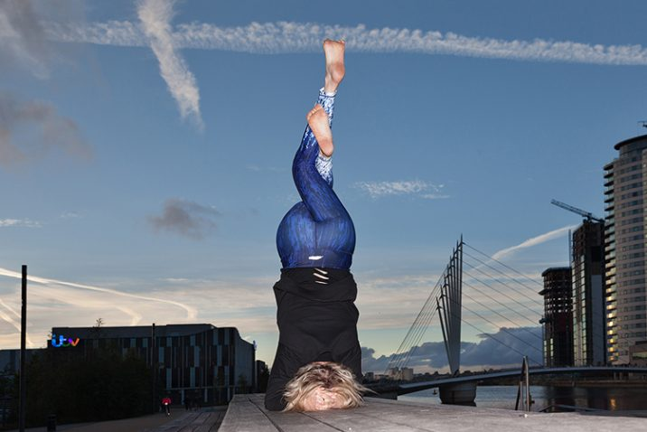 Bakasana Activewear at Salford Quays. Credit: Heather Lawrence