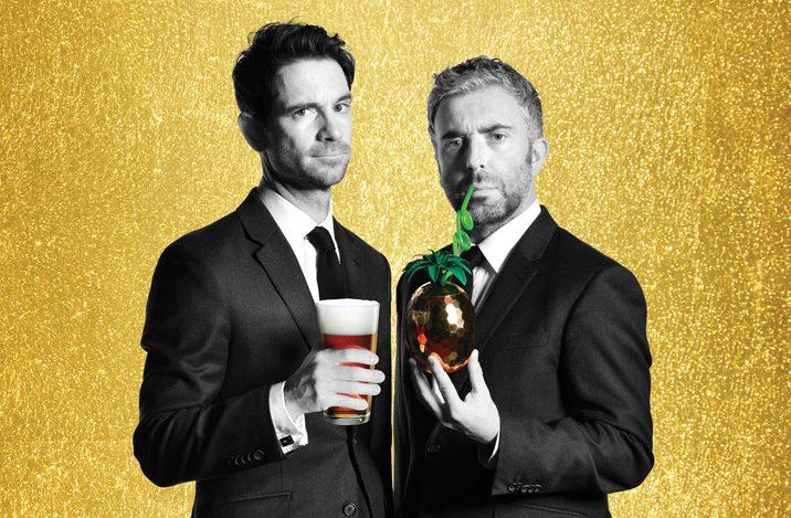 Thinking Drinkers: Tom Sandham (left) and Ben McFarland