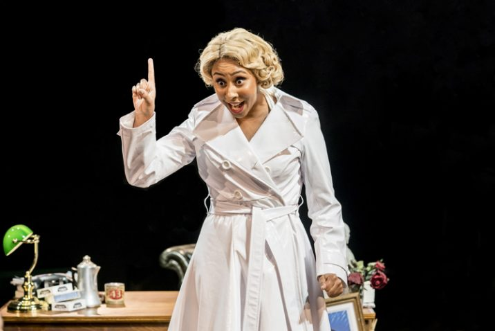 Emily Mae as Ulla. Image: Johan-Persson
