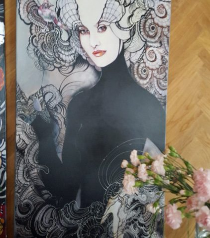 Art work by Maggie Piu