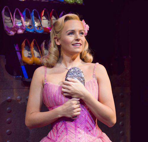 Helen Woolf as Glinda. Photo Credit Matt Crockett