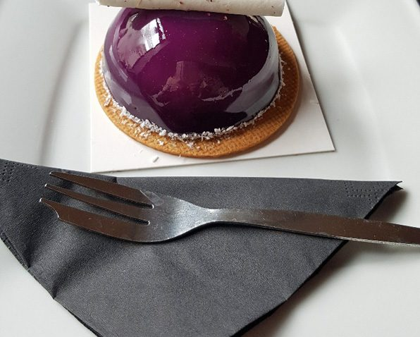 My cake at Krakowska Wolica Cafe