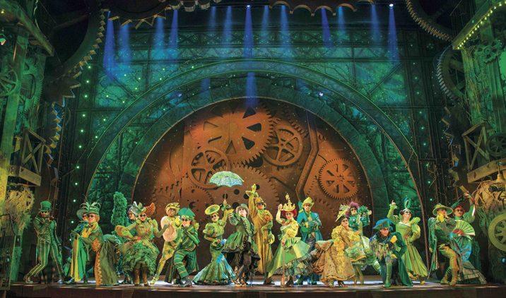 Wicked - The Emerald City. Photo credit Matt Crockett