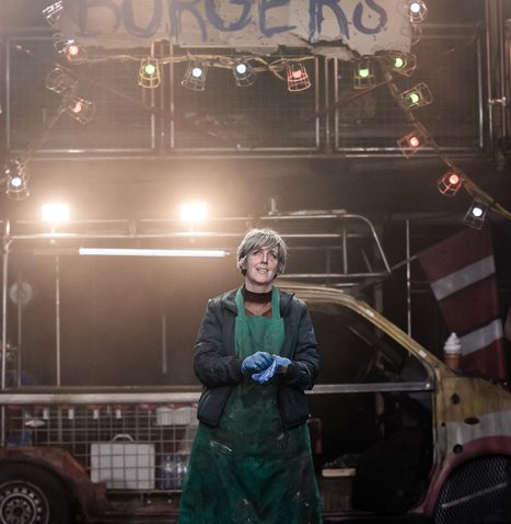 Julie Hesmondhalgh as Mother Courage ©The Other Richard